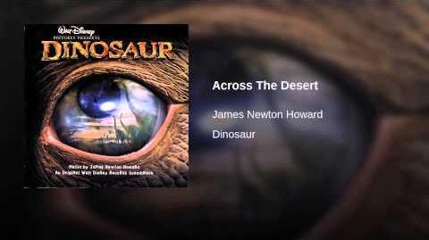 Across The Desert (Score)