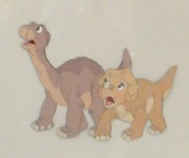 The Land Before Time (1988) - Littlefoot and Cera (46)