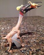 Quetzalcoatlus with Alamosaurus prey CollectA