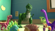 Rex and sunnyside dinos