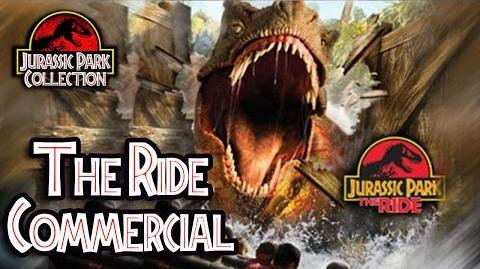 Jurassic Park The Ride Commercial