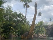 Isla Nublar Tour Ultrasaurus