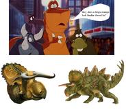 Stegoceratops look familiar