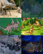 Family Day Parasaurolophus