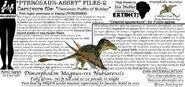 Pterosaur asset files dimorphodon by taliesaurus-dcc57rz