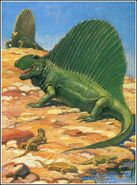 Charlesknight dimetrodon