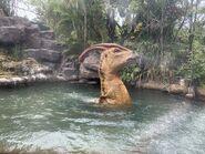 Isla Nublar River Cruise Parasaurolophus