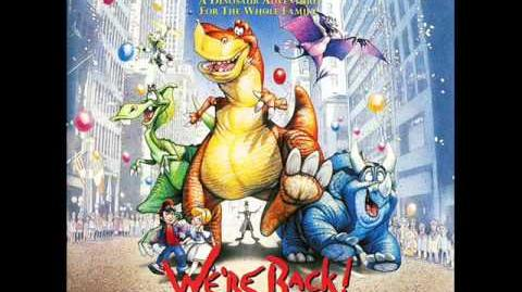 06. Roll Back The Rock (To The Dawn Of Time) - We're Back! A Dinosaur's Story OST