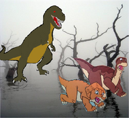 The Land Before Time (1988) - Sharptooth! (2)
