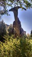 George s eccles dinosaur park parasaurolophus by dinolover09 dcoo404-fullview