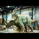 Walt Disney Imagineering Animal Kingdom Styracosaurus Dinosaur Production