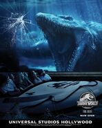 Jurassic World the ride - Now Open
