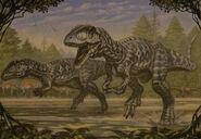 Carcharodontosaurus by abelov2014-dax4u5v