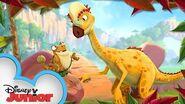 Pachycephalosaurus Gigantosaurus Know Your Dino Disney Junior