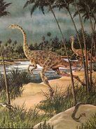 Struthiomimus Album of Dinosaurs