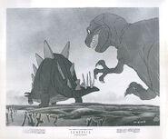 Walt DIsney's Fantasia dinosaurs photo