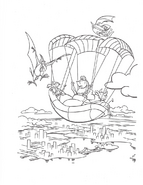 We're Back coloring page 6