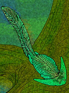 Diplocaulus magnicornus