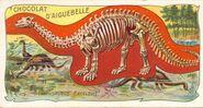 Large daiguebelle brontosaurus