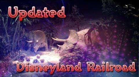 All New Disneyland Railroad 2017 Ride Through