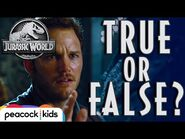 TRUE or FALSE Movie Quiz - JURASSIC WORLD
