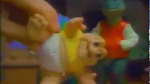 1992 Dinosaurs Talking Baby Sinclair and Action Figures Toy Commercial by Hasbro