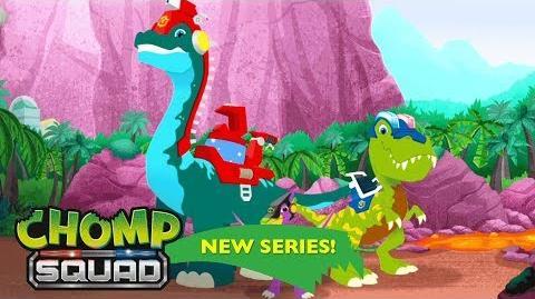 'Lights, Camera, Lava!' 🎬 Episode 18 Chomp Squad A NEW Series!