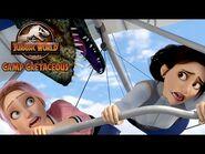 Flying With Dimorphodons - JURASSIC WORLD CAMP CRETACEOUS - NETFLIX