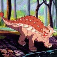 Kosh the Ankylosaurus