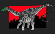 Jurassic Park apatosaurus updated 2014 by hellraptor-d23x0nd
