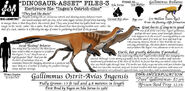 Dinosaur asset files gallimimus by taliesaurus-dc1880t