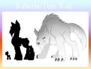 Eponia dire wolves or waheela by the clockwork crow d6ox0kx