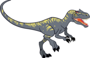 Allosaurus vector by smcho1014 dccmxuz