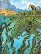 Edmontosaurus Album of Dinosaurs