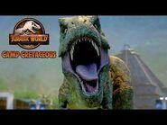 Sneaking Into the T-Rex Nest - JURASSIC WORLD CAMP CRETACEOUS - NETFLIX