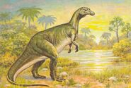 Camptosaurus-Dinosaur-Postcards-1000x673