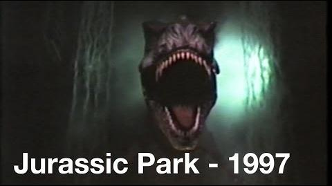 Jurassic Park The Ride - 1997 - Universal Studios Hollywood
