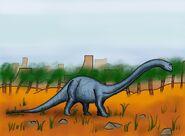 Diplodocus by hairydalek-d5netpy