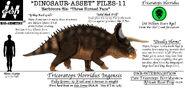 Dinosaur asset files the triceratops by taliesaurus-dbnlp5e