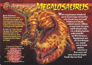 Megalosaurus front
