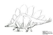 Stegosaurus concept art
