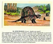 Dimetrodon Brooke Bond Picture Cards