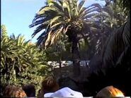 Universal Studios-Jurassic Park Ride. Nov. 1997.