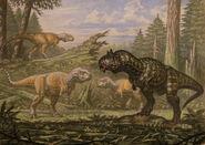 Carnotaurus abelisaurus by abelov2014-d8ra9aw