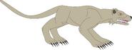Prehistoric world cynodictis by daizua123 daxm2dd