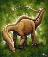 Apatosaurus by Kyoht