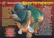 Brontotherium front