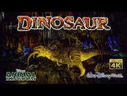 Dinosaur On Ride Low Light Ultra HD 4K POV Disney's Animal Kingdom Walt Disney World 2020 10 28