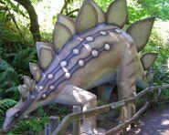 Prehistoric gardens Stegosaurus
