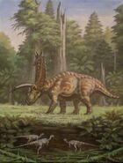 Pentaceratops parksosaurus by abelov2014-d9xbmsl